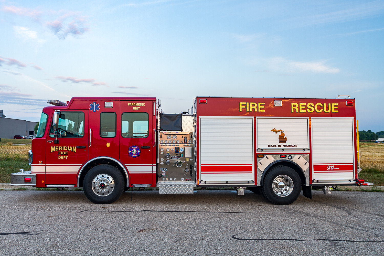 New Fire Service Agreement with Alaiedon Township