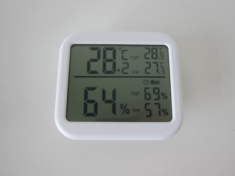 ORIA Digital Hygrometer Thermometer Display