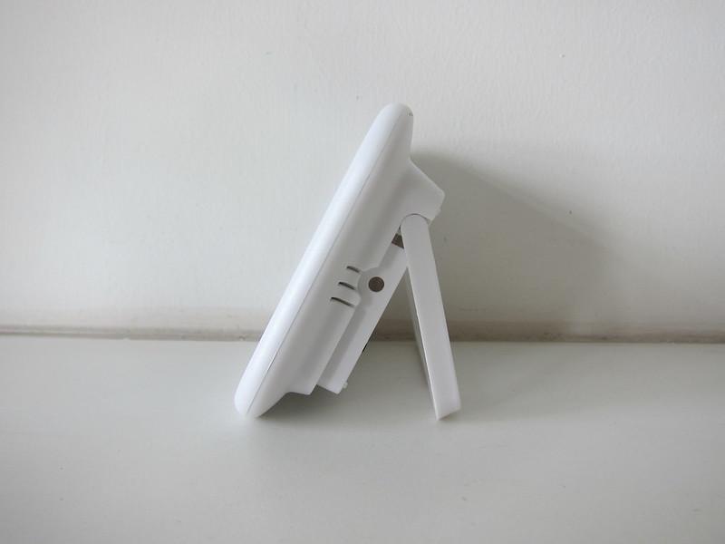 ORIA Digital Hygrometer Thermometer Display - Side