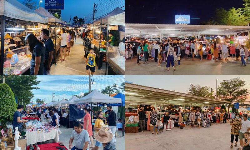 ตลาดร้อยเมตร 100 M. Market