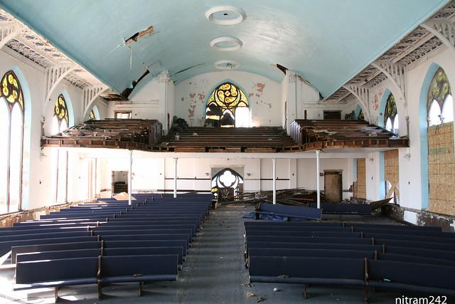 Chicago Church St Stephenson Sad Pews