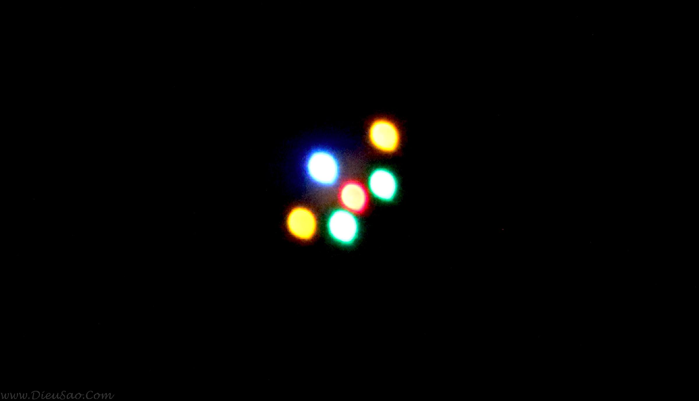 Diều sáo lắp đèn cảm biến ánh sáng