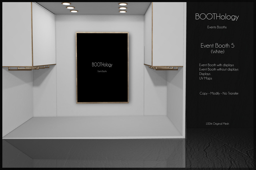 Bothology - Event Booth 5 White AD