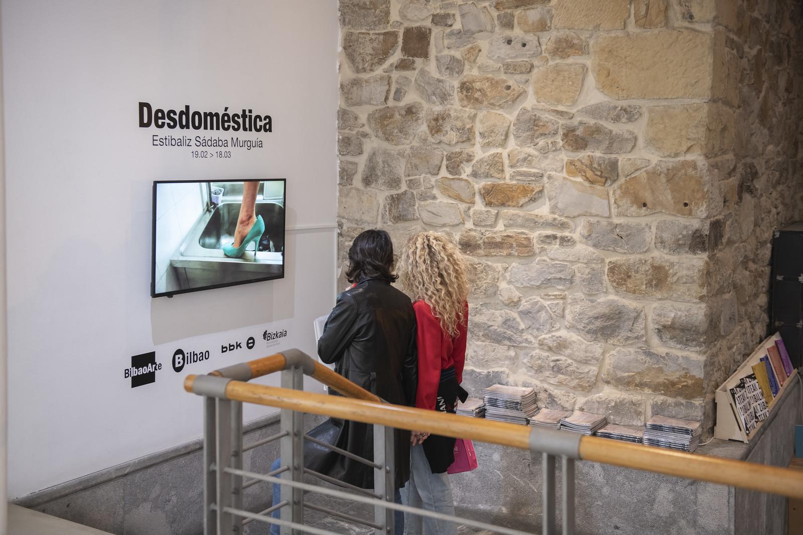 Exposición: «Desdoméstica», Estibaliz Sádaba Murguía