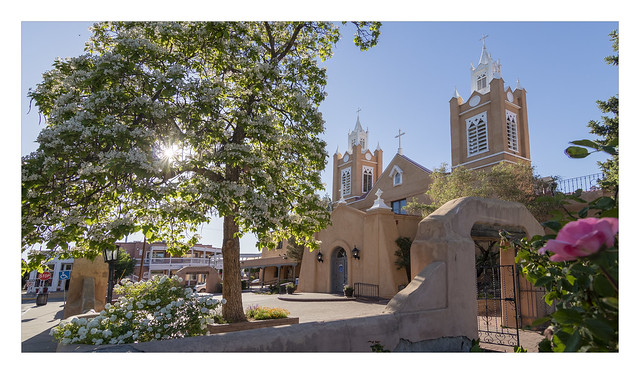San Felipe de Neri Church in Albuquerque NM