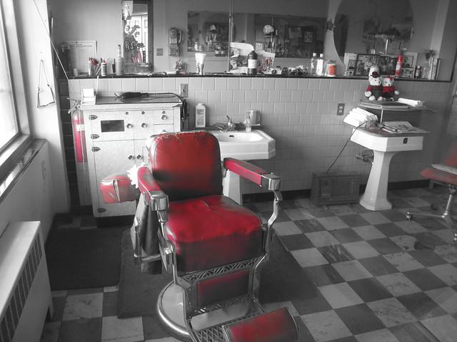 barber chair reno