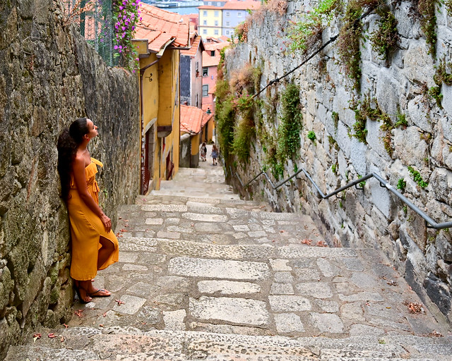 Viaje en coche por Portugal al paso por Oporto