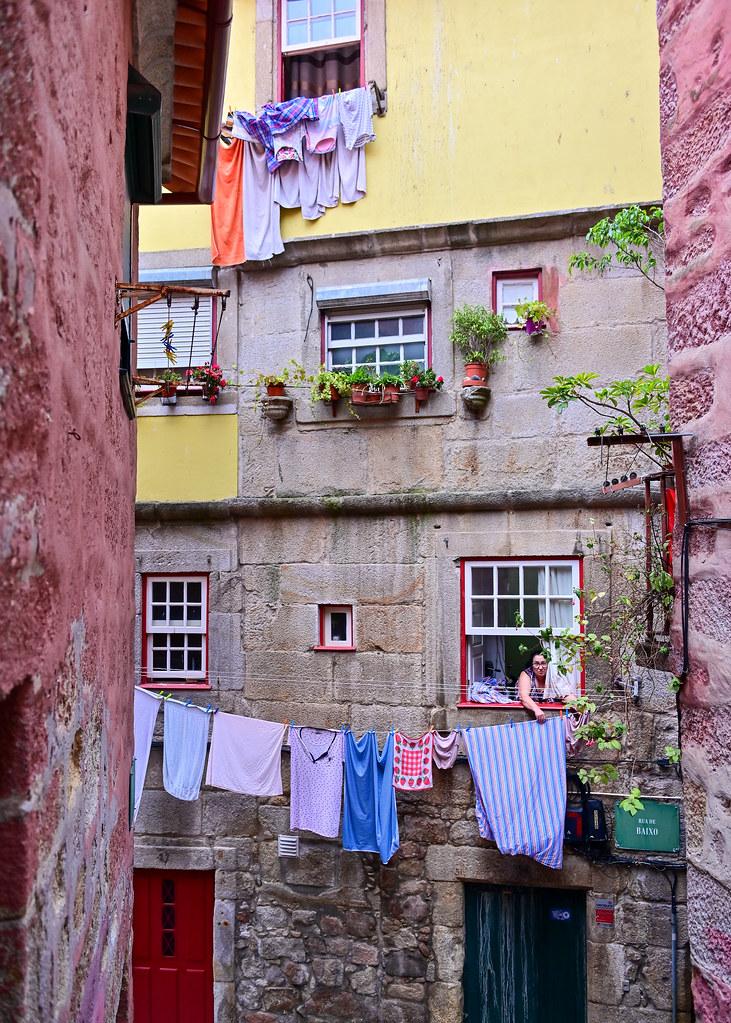 Rua de Baixo en el barrio de Barredo