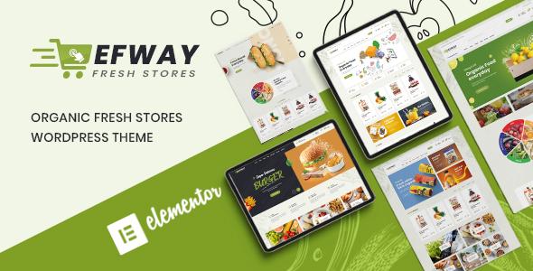 Efway Food Store WooCommerce WordPress Theme Themelexus