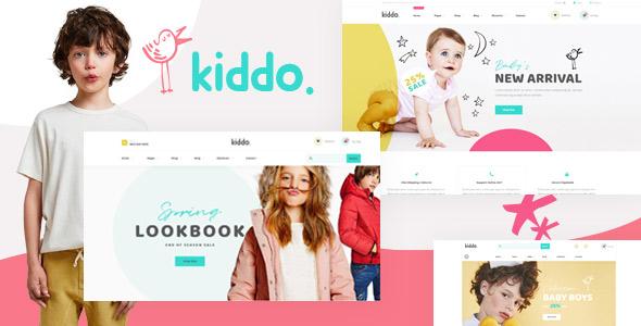 Kiddo Fashion WooCommerce WordPress Theme Themelexus