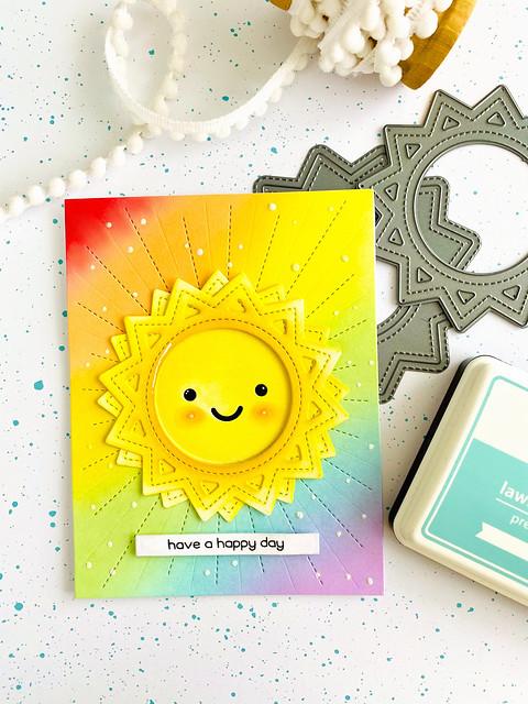 Sunshine (Lawn Fawn spring release week!)