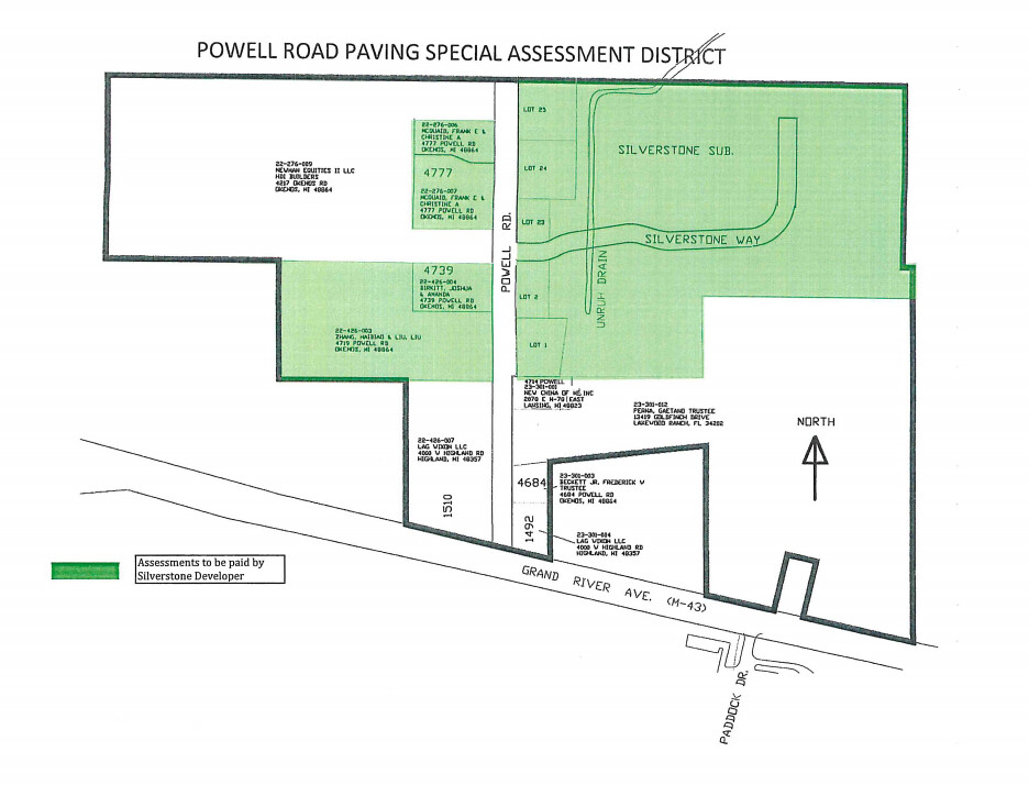 LaFontaine Voices Opposition to Powell Road Special Assessment District