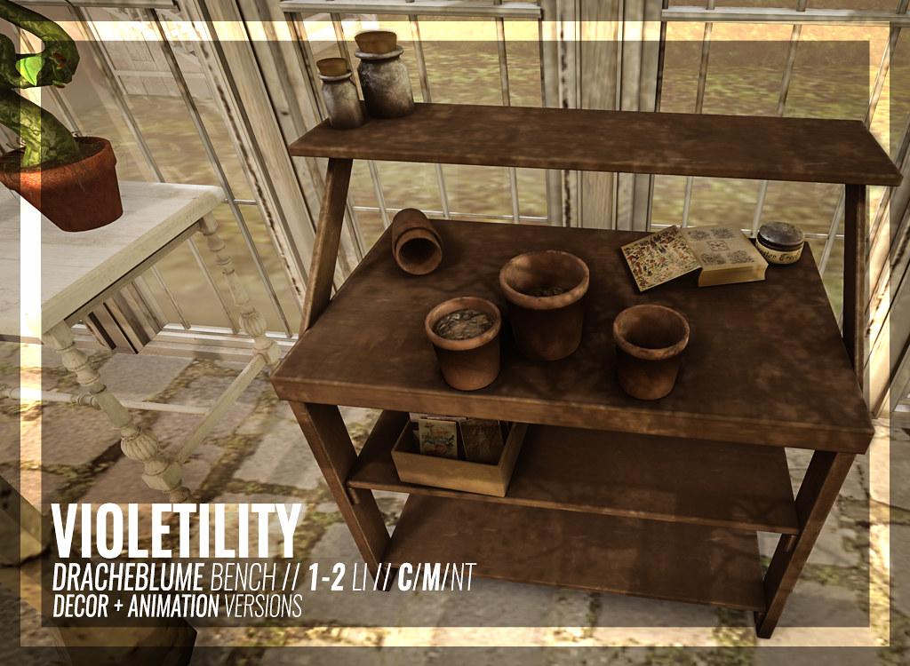 Violetility - DracheBlume Bench