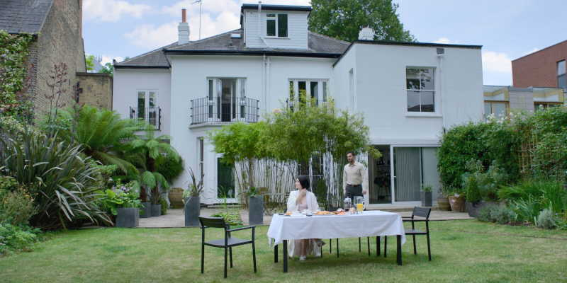 The villa in Islington