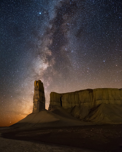 Milky Way over Thumb Butte