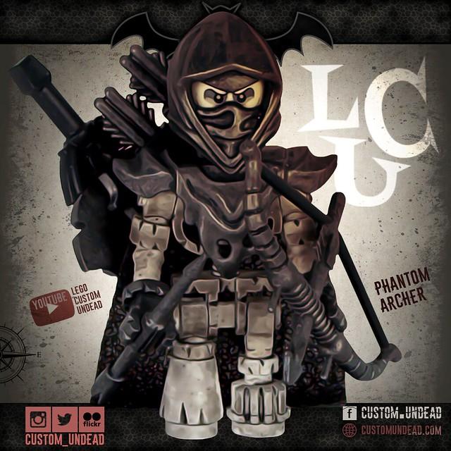 Phantom Archer – Lego Custom Minifigure