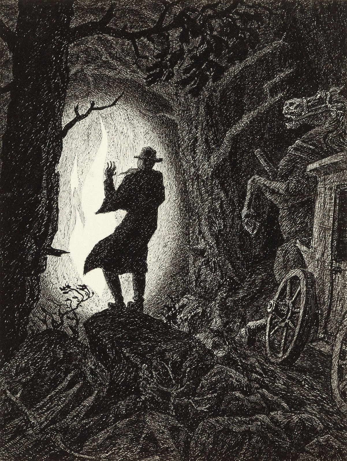 Fritz Schwimbeck - Dracula, 1917