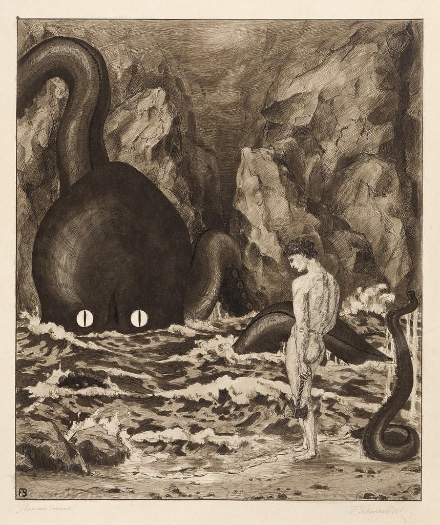 Fritz Schwimbeck - Pessimism, 1910