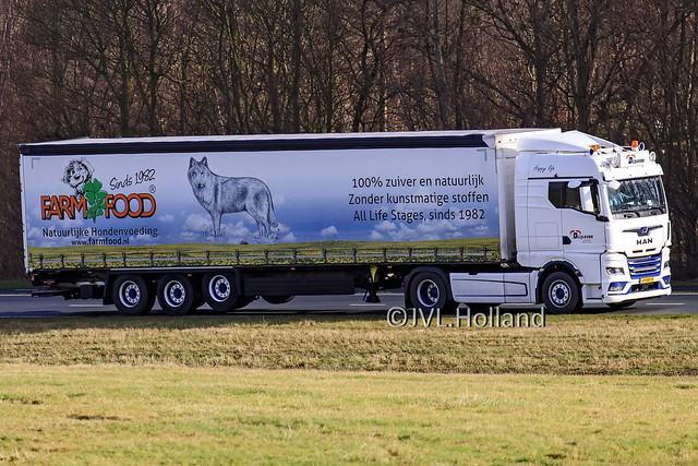 MAN TGX  NL  'Blijleven Transport'  'Farm Food' 210219-135-C6 ©JVL.Holland