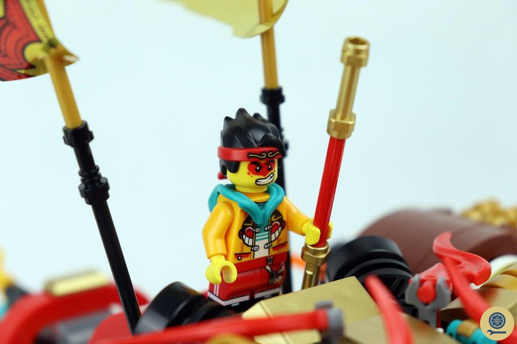 80021 Monkie Kid's Lion Guardian 7