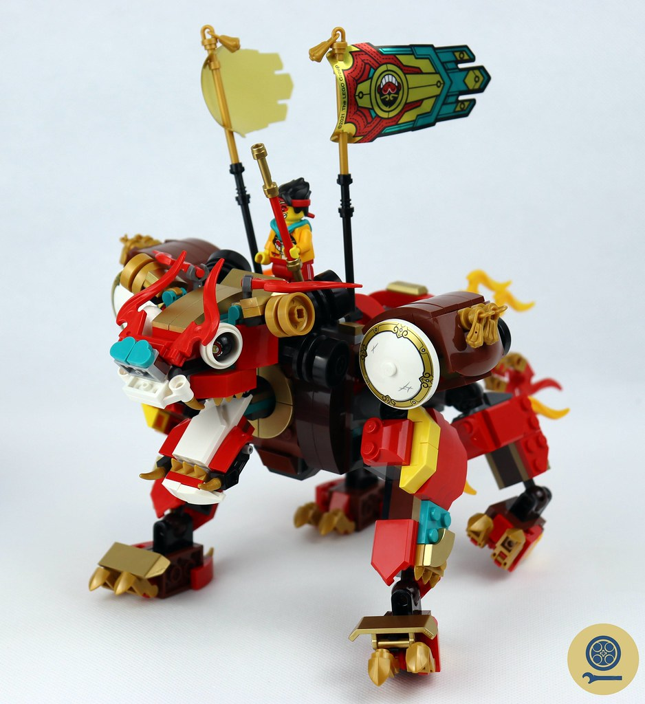 80021 Monkie Kid's Lion Guardian 6