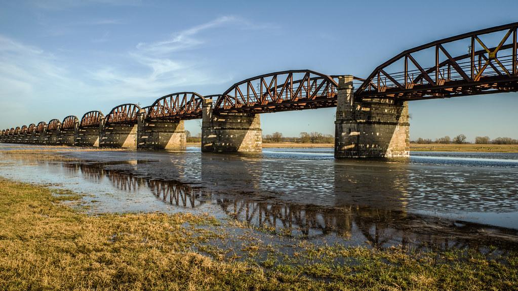 Dömitzer Eisenbahnbrücke  MABA8432
