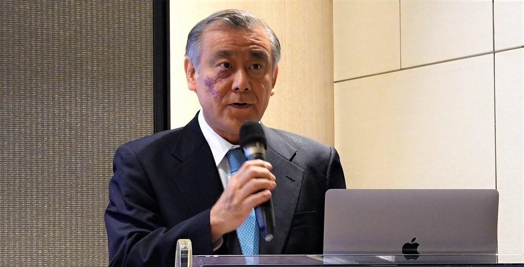 辰亞能源董事長目賀田好弘