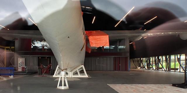 All alone - Short Sunderland V flying boat - RAF Museum, Hendon Aerodrome, London NW9