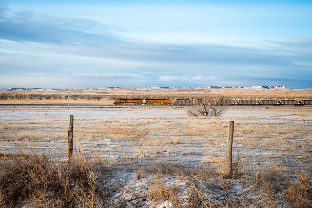 BNSF 9073 - Edgemont, South Dakota