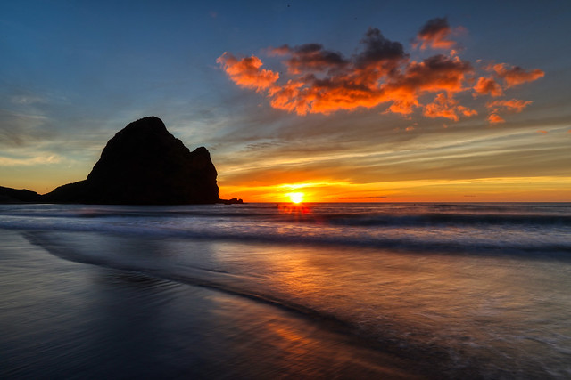 Piha Sunset 3