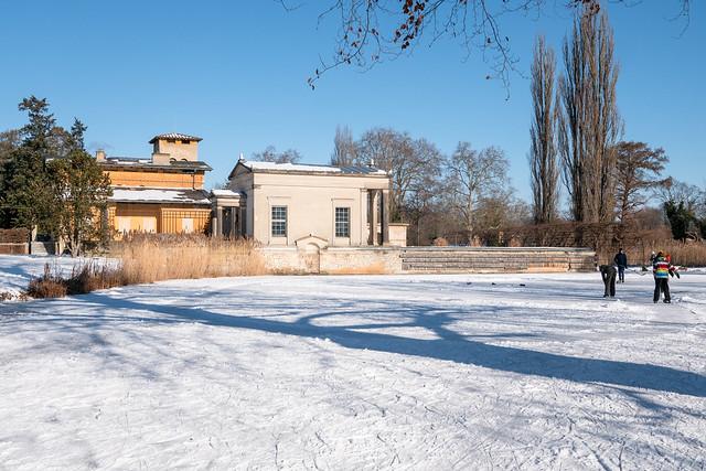Potsdam, Park Sanssouci: Römische Bäder - Roman Baths
