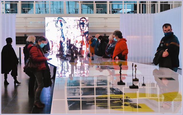 Exposition Alberto Giacometti - l'Humanité absolue, Cité Miroir, Liège, Belgique