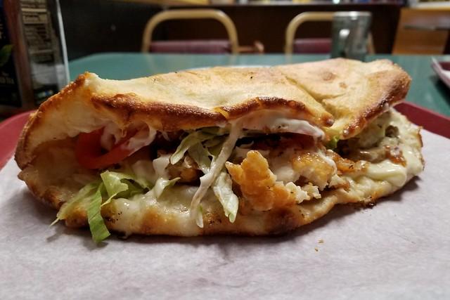 Chicken wedgie from Bellisario's Pizza