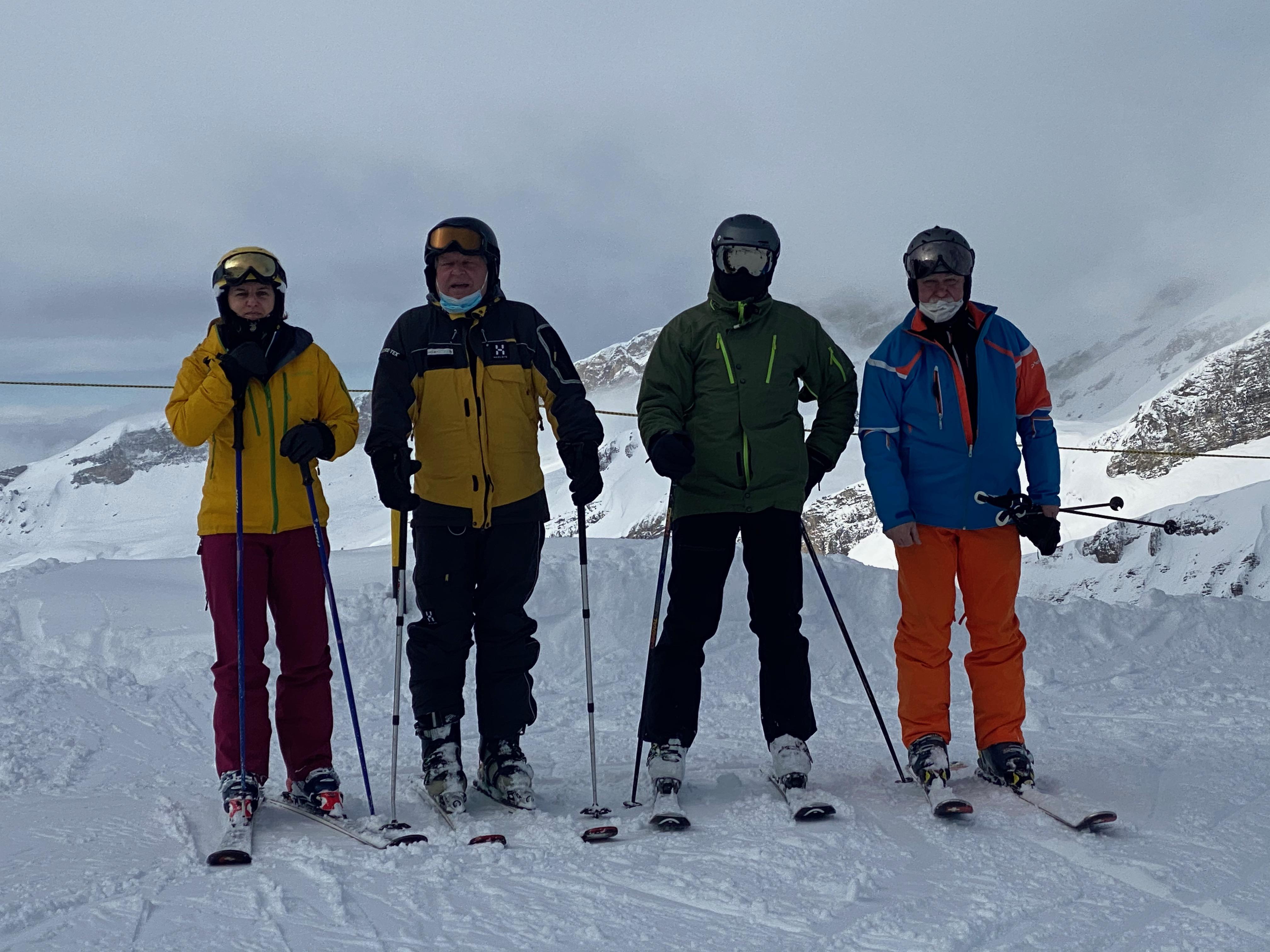 Skiweekend 30.-31.01.2021 Berghuis Jochpass Engelberg