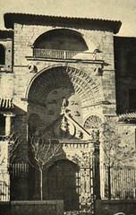 Manzanares (Ciudad Real). Portada principal de la Iglesia Parroquial