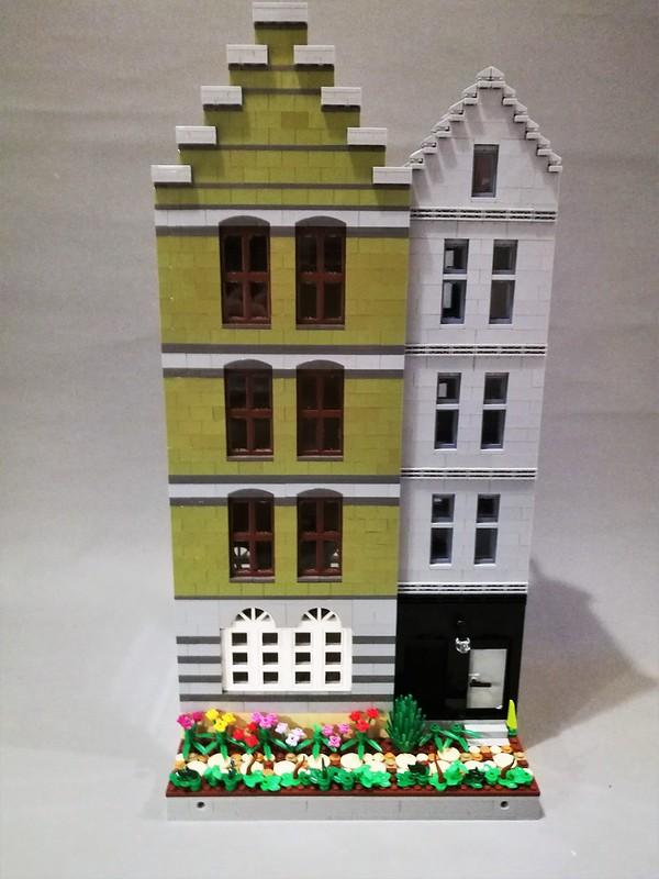 [MOC] Amsterdam-esque narrow houses