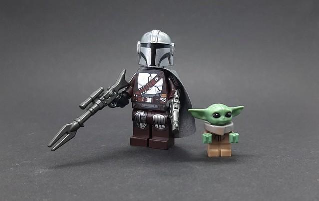 Lego Mandalorian & Grogu