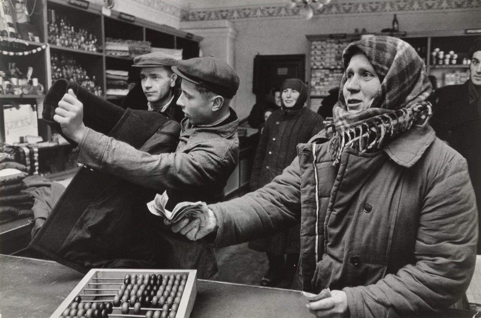 1957. Ленинград. Универмаг (3)