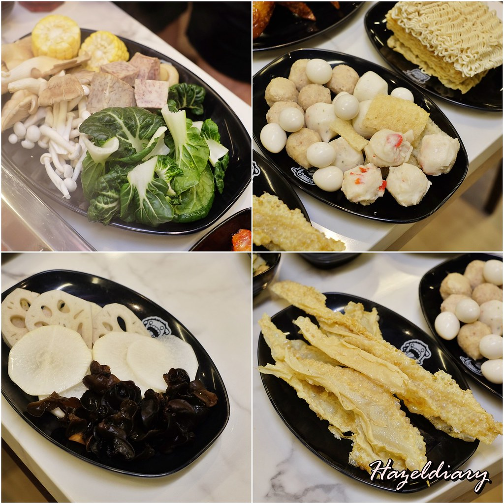 GoroGoro Steamboat & Korean Buffet @ The Centrepoint-Ingredients