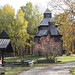 Church of the Resurrection of Christ from the village of Kisorichi, 18th century, Rivne region. Ukraine.