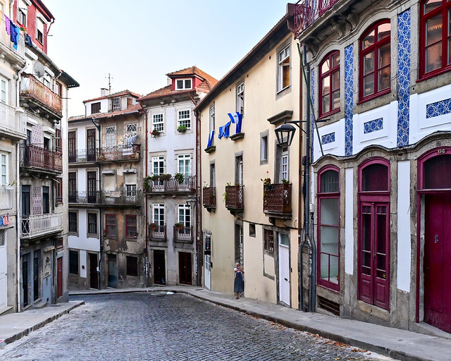 Rua das Taipas, una de las calles de Oporto