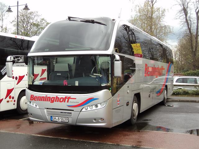 Benninghoff Reisen of Wiehl Germany (D) GM-B-5039