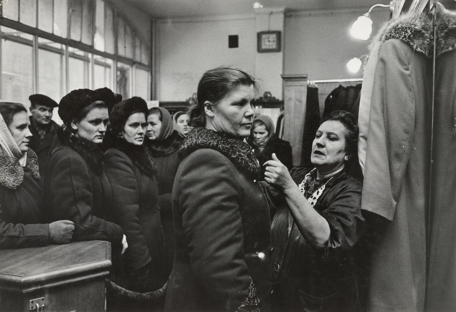 1957. Ленинград. Универмаг