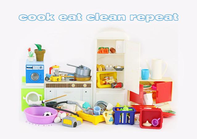 COOK EAT CLEAN REPEAT || ZELFREINIGENDE KEUKEN