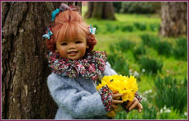 🎄💛🌿💫🎄💛🌿✨🎄 Schatzi ... ich hab den Frühling gesehen ...