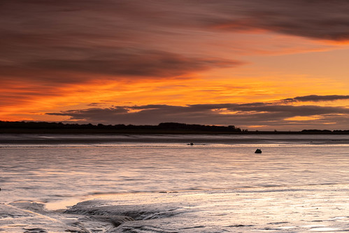tranquil river riverthames essex leighonsea sunset pinnaclephotography