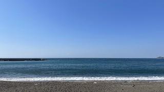 三戸浜の海