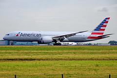 N825AA 787-9 American  CDG 15-07-17