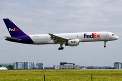 N919FD 757-23A(SF) Fedex  CDG 15-07-17