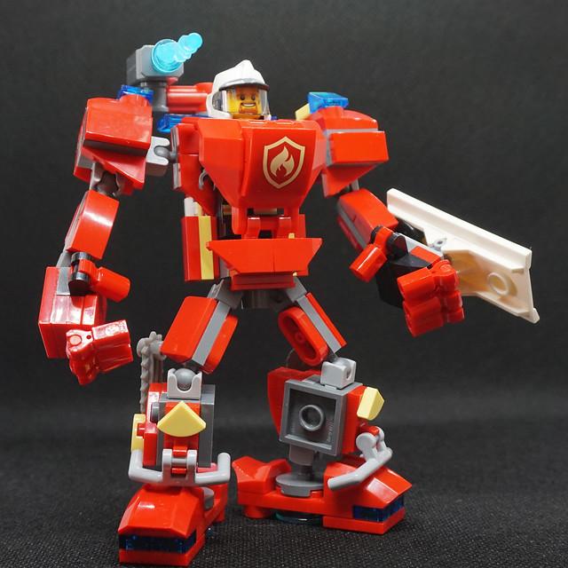 MABILLE Mark II - Firefighter mech